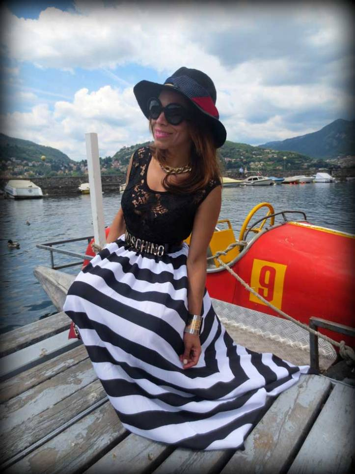 switzerland-suiza-lugano-stripes-top-rayas-denny-rose-angie-reyn-falda-de-cuero-gafas-prada-fashion-blogger-personal-shopper-madrid-vestido-de-rayas-sombrero-oysho-prada-minimal-baroque