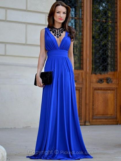 vestido de fiesta-pickdlook-angienewlook-angie reyn-angie r-fashion stylist-estilista de moda-que me pongo evento-vestido corte A-vestido azul klein