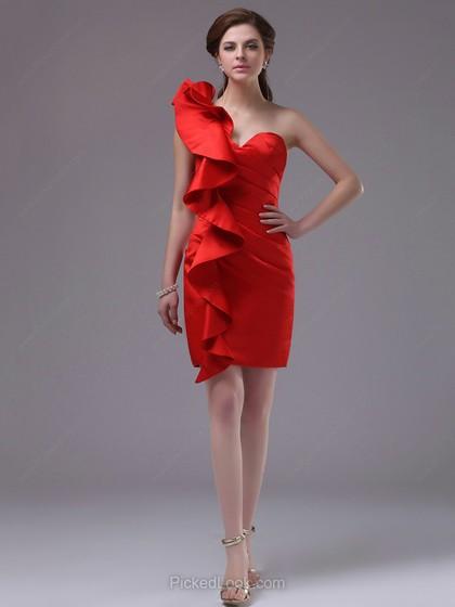 vestido de fiesta-pickdlook-angienewlook-angie reyn-angie r-fashion stylist-estilista de moda-que me pongo evento-vestido rojo-vestido volante-ruffle dress