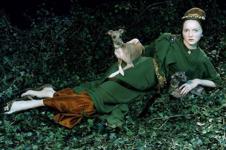 vogue like a painting-museo thyssen-alta costura-angie reyn-angienewlook-moda-estilo-tendencias-blog moda