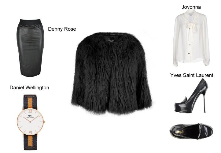 denny rose tendencias oi 2016- yves saint laurent mocasines-jovonna shirt-camisa blanca-reloj sport daniel wellington-angie