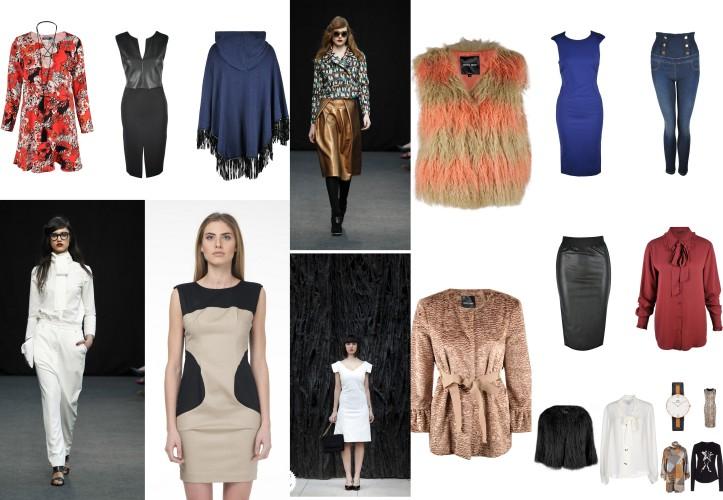 kralova design-tube dress-faux fur vest-chaleco de pelo-vestido azul klein-angienewlook-angie reyn