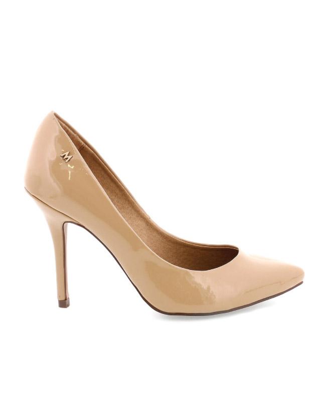 Mariamare-botas de tacon-high heels boots--midi-kitten-heel-angienewlook-angie-reyn-tendencias-calzado-oi-2015--footwear-trends-aw-2015-zapatos de salon color nude-zapatos de charol-stilettos nude