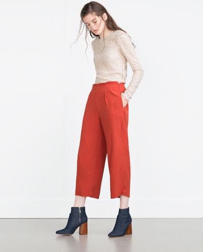 pantalon culotte-cropped pants-angienewlook-zara-moda mujer
