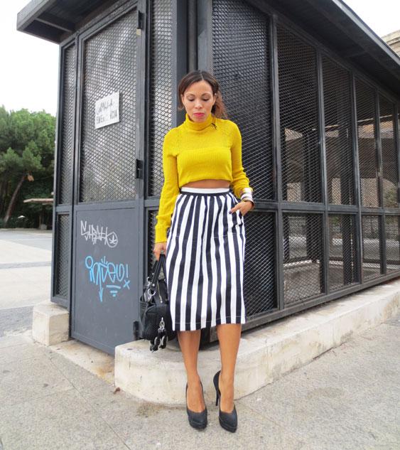 el-alfeñique-rojo-moda-española-spanish-fashion-falda-de-rayas--ermanno-scervino-angienewlook-high-heels