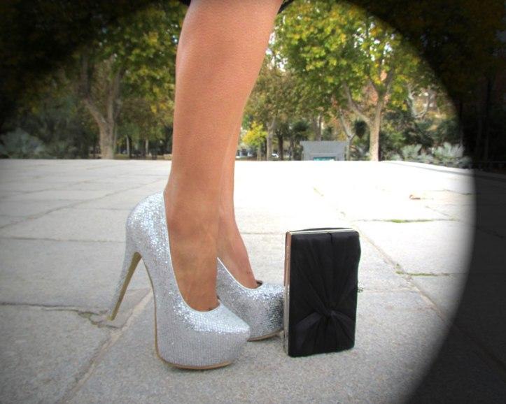 zapatos-plateados--7-inches-shoes--clutch-cartera-de-fiesta