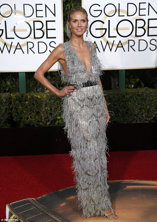 heidi klum in marchesa for golden globe 2016-red carpet-awards-blog moda