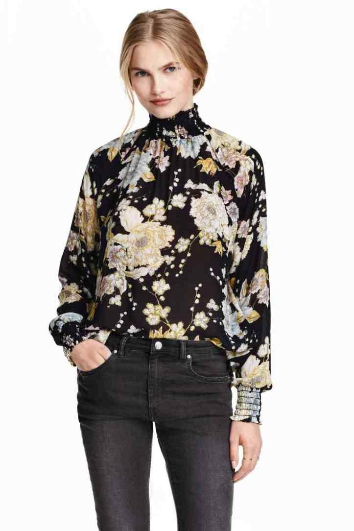 hm-blusa floral de gasa-estampado floral-primavera verano 2016-angie reyn