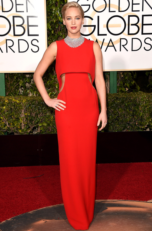 jennifer-lawrence golden globe awards 2016-best dressed