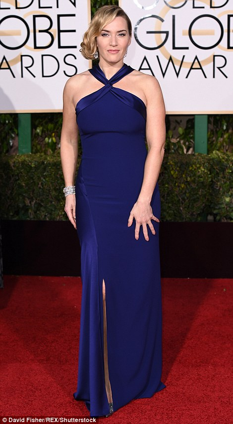 kate winslet blue ralph lauren golden globe 2016-personal shopper madrid