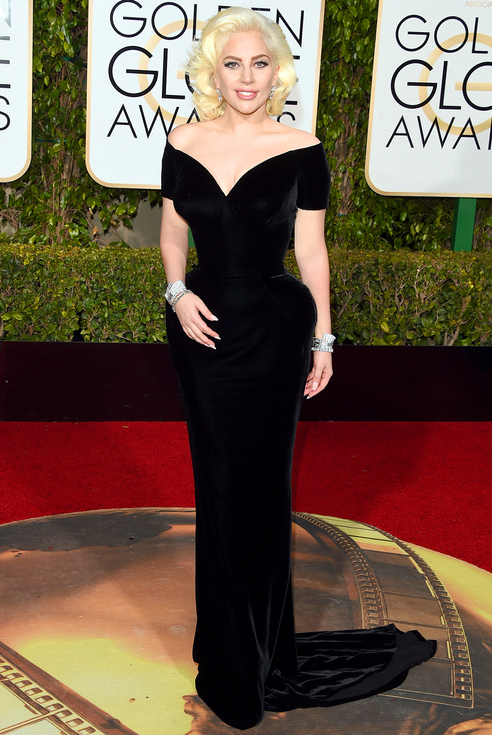 lady-gaga-drupal-atelier versace-golden globe-angienewlook-neil lane diamond