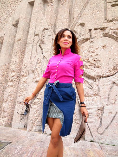el-alfeñique-rojo-camisa-ana-maria-galan-designer-camisa-rosa--pink-shirt-angienewlook-angie-reyn