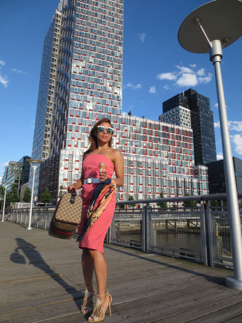 strapless-dress-fringes-sandals-sandalias-de-flecos-angie-reyn-new-york--traveling-instablogger-influencer