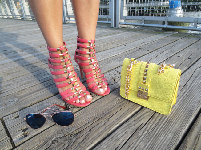 vince-camuto-shoes-rayban-sunnies-bcbg-bag-bcbg-generation-yellow-bAG