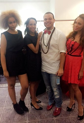 Designer's crew/Equipo. Merlix, Saadia and Wilfree