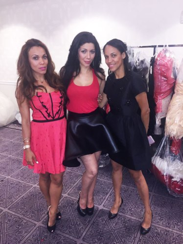 Designer Irina Shabayeva and Saadia
