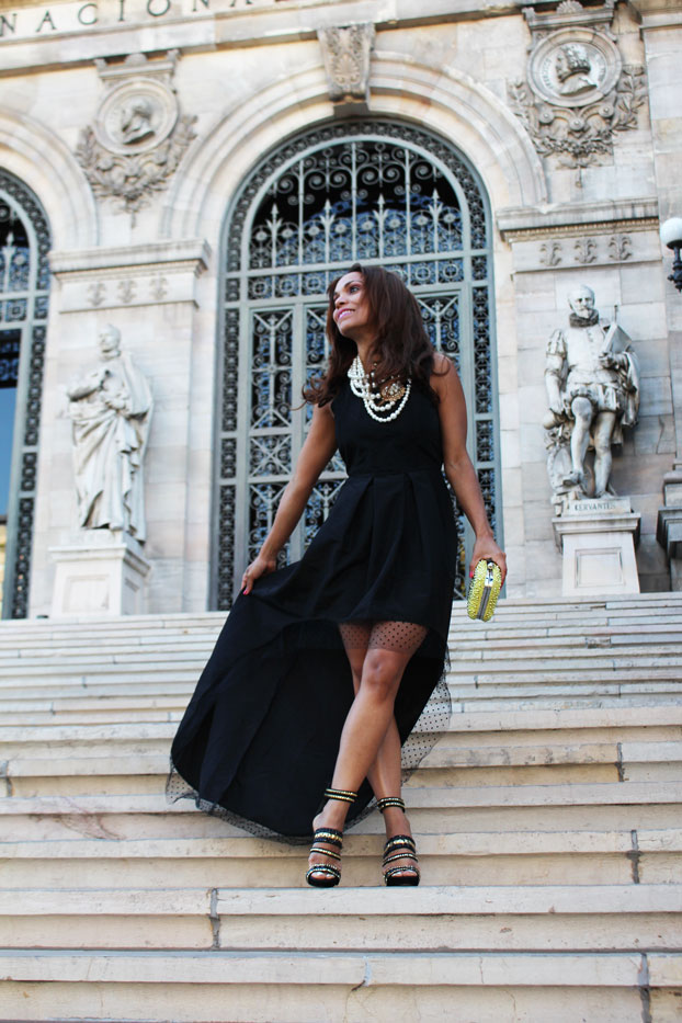 thanksgiving-look-estilo-para-thanksgiving-black-long-dress