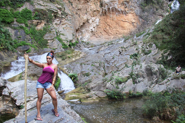 salto del caburni, caburni waterfall, becca bathingsuit, swimsuit, angienewlook, valle de los ingenios