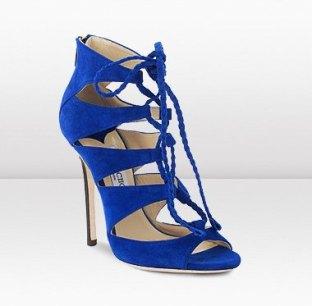 blue high heels sandals-jimmy choo sandals