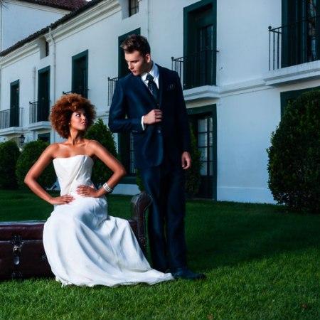 arquimedes llorens novia, haute couture, paco cecilio suit, groom tuxedo,angienewlook stylist