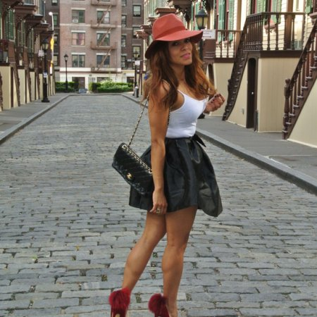 Manhattan, sex and the city style, angienewlook, angoe reyn, black and white