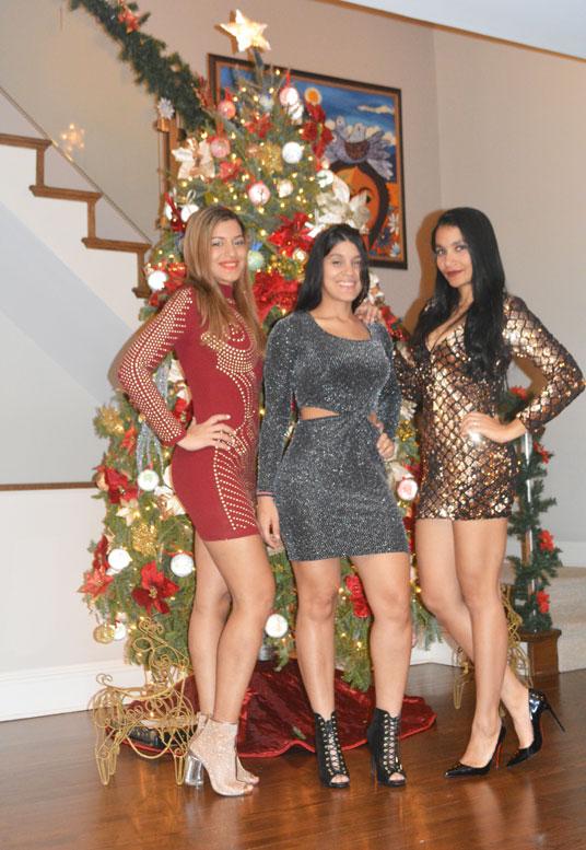 sequin, short dresses, louboutin shoes