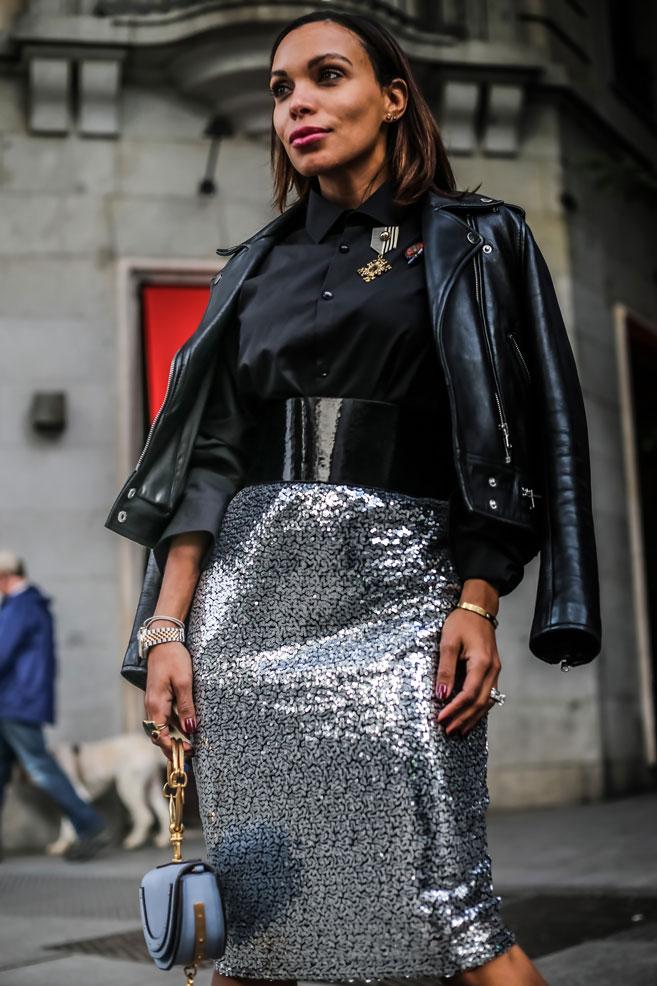 falda-plateada-de-lentejuelas-angienewlook