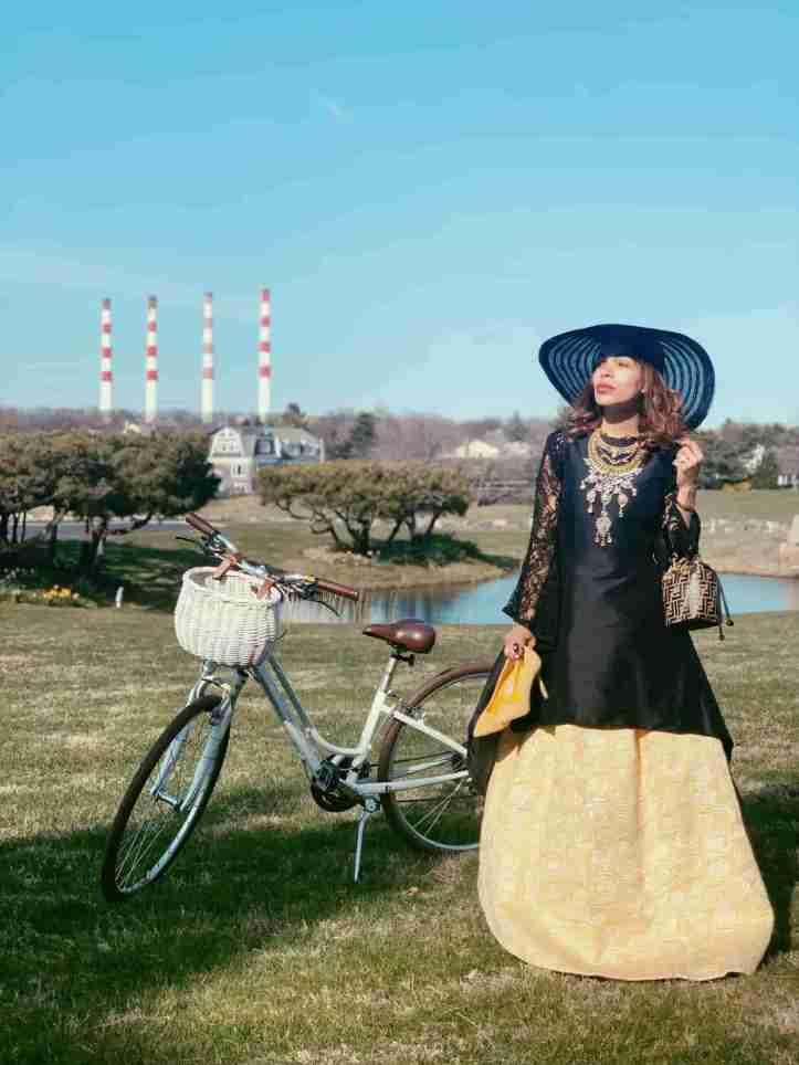 picnic bicycle-campo estilo campestre