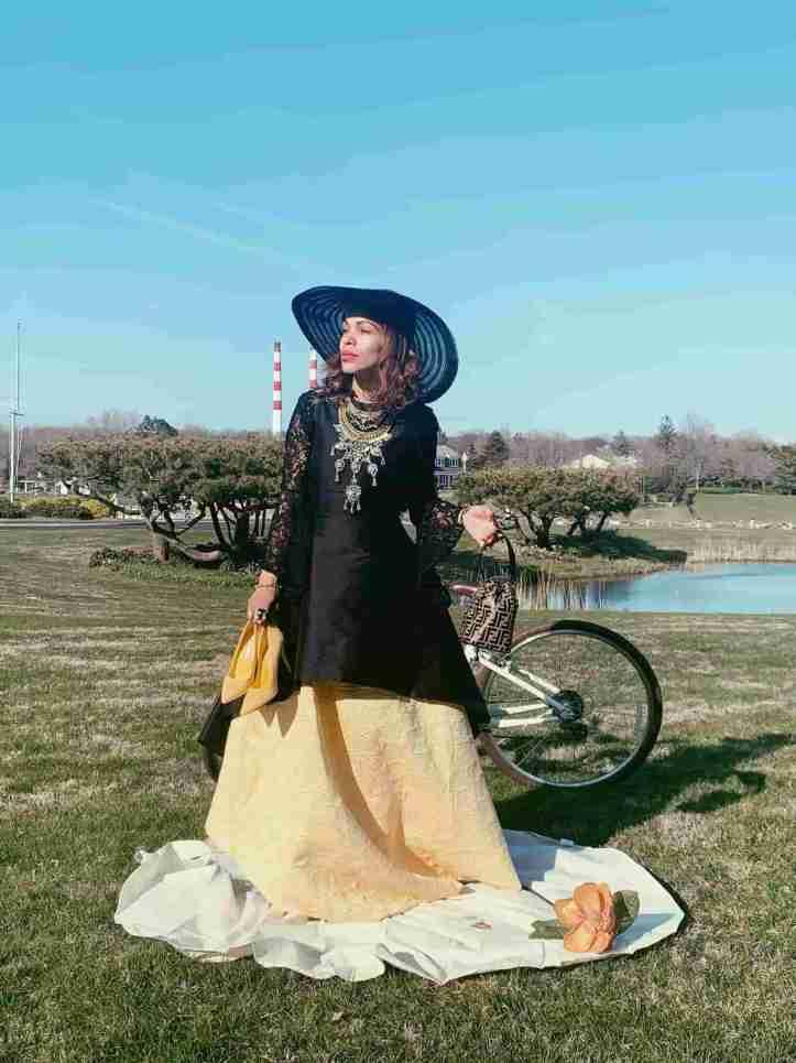 quarantine-cuarentena style-picnic couture